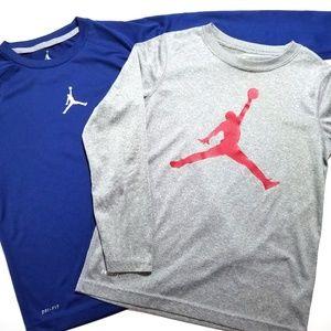 NIKE AIR JORDAN Active L/S Shirt Lot